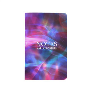 Multicolor Modern Abstract Fractal Journal