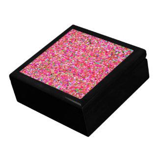 Multicolor Mosaic Modern Grit Glitter #4 Gift Box