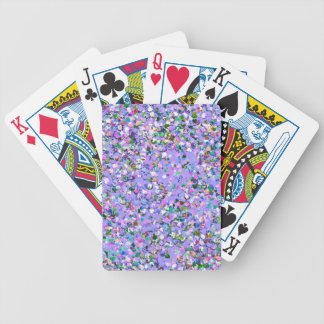 Multicolor Mosaic Modern Grit Glitter #6 Bicycle Playing Cards