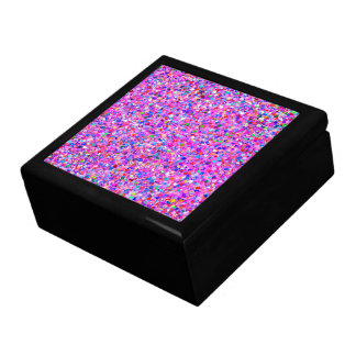 Multicolor Mosaic Modern Grit Glitter #8 Gift Box