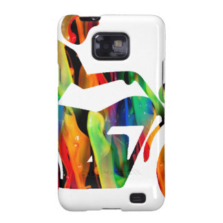 MULTICOLOR MOTORCYCLE PRODUCTS GALAXY SII COVER