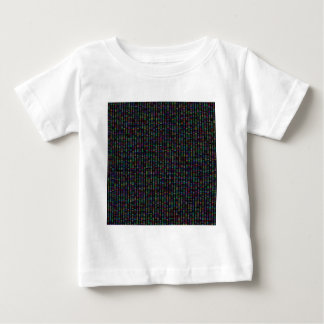 Multicolor Pattern Baby T-Shirt