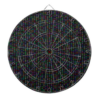 Multicolor Pattern Dartboard