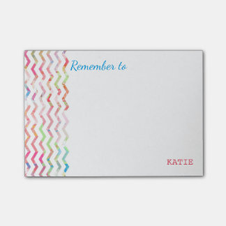 Multicolor reminder notes