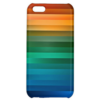 Multicolor Ribbon Stripe iPhone Case iPhone 5C Case