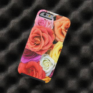 Multicolor Roses Pattern Design Tough iPhone 6 Case