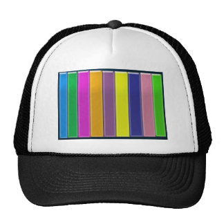 Multicolor SPECTRUM - Elegant Cool Energy GIFTS Mesh Hats