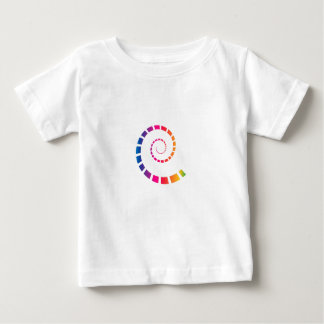 Multicolor Spiral Baby T-Shirt