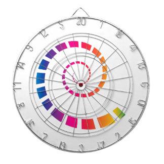 Multicolor Spiral Dartboard