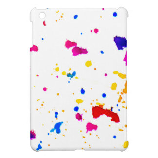 Multicolor Splatter Abstract Print iPad Mini Cases