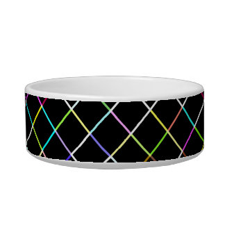 Multicolor Square Lined Pattern Bowl