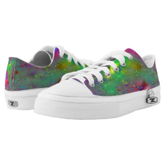 Multicolor Star Cloud Low Top Shoes-US Women
