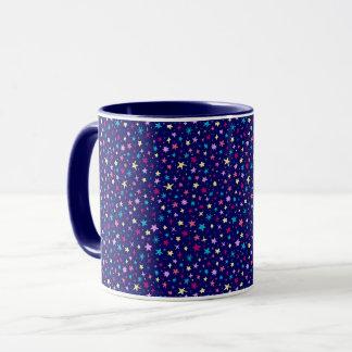 Multicolor stars pattern Coffee Mug