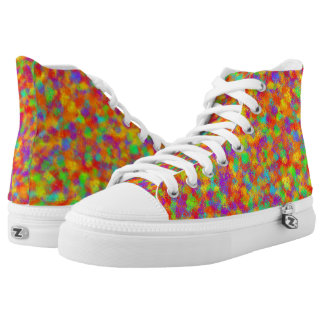 Multicolor String Theory Printed Shoes