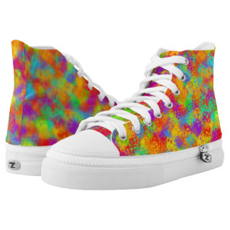 Multicolor String Theory v2 Printed Shoes