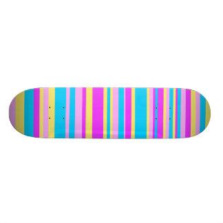 Multicolor Stripe 2 18.1 Cm Old School Skateboard Deck