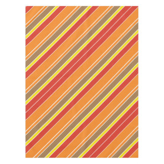 Multicolor Stripe Tablecloth