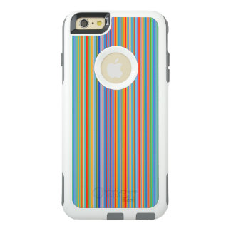 Multicolor Striped Pattern OtterBox iPhone 6/6s Plus Case