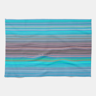 Multicolor Striped Pattern Towel