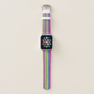 Multicolor stripes 1 apple watch band