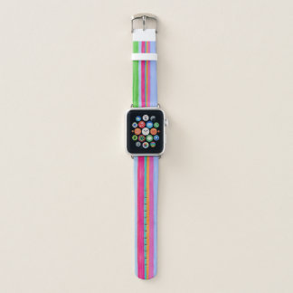 Multicolor stripes 2 apple watch band