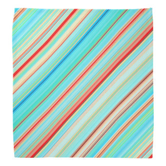 Multicolor Stripes Bandana