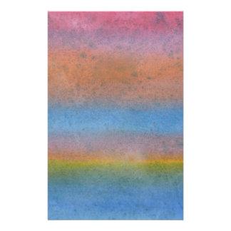 Multicolor Stripes. Flyer Design