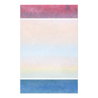 Multicolor Stripes. Custom Flyer