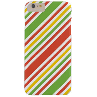 Multicolor Stripes Pattern Barely There iPhone 6 Plus Case