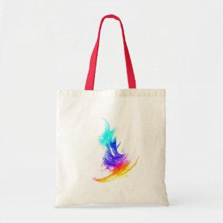 Multicolor Stroke small Tote Bag