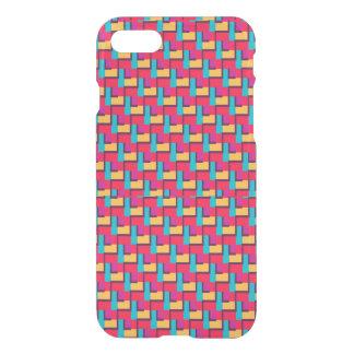 Multicolor Stylish Zigzag Pattern iPhone 7 Case