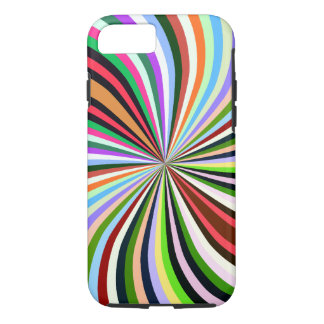 Multicolor Swirl. Chic, Exotic Colorful Background iPhone 7 Case