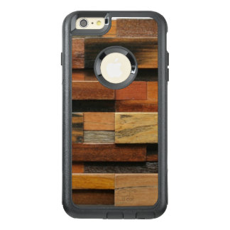 Multicolor Textured Wood Collage OtterBox iPhone 6/6s Plus Case
