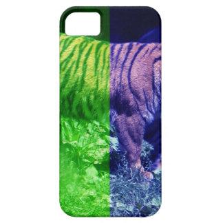 Multicolor Tiger iPhone 5 Case