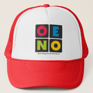 multicolor trucker hat