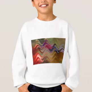 Multicolor waves sweatshirt