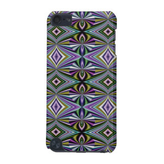 Multicolor Yellow/Green/Lavender/Violet Pattern iPod Touch 5G Cover