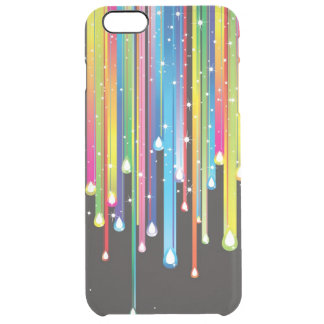 Multicolored Abstract Clear iPhone 6 Plus Case