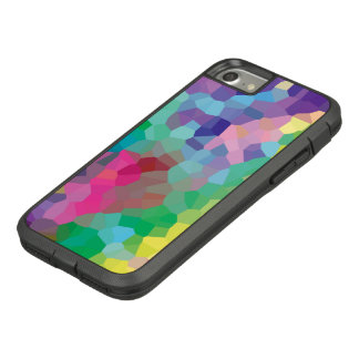Multicolored Abstract Crystals Geometric Pattern Case-Mate Tough Extreme iPhone 8/7 Case