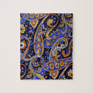 Multicolored Abstract Design Jigsaw Puzzle
