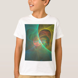 Multicolored abstract fractal T-Shirt