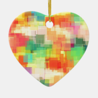 Multicolored Abstract Geometric Pattern Ornaments
