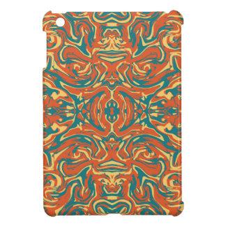 Multicolored Abstract Ornate Pattern iPad Mini Cases