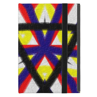 Multicolored abstract pattern case for iPad mini