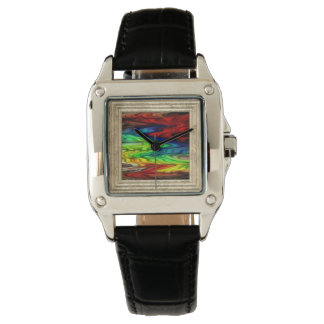 MultiColored Abstract Watch