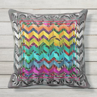 Multicolored Beauty Outdoor Cushion