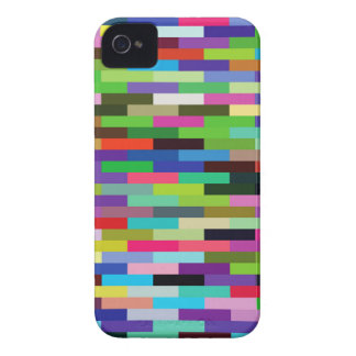 multicolored bricks iPhone 4 Case-Mate case