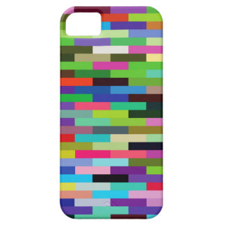 multicolored bricks iPhone 5 case