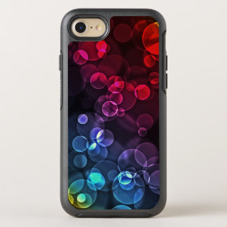 Multicolored Bubble Pattern OtterBox Symmetry iPhone 8/7 Case