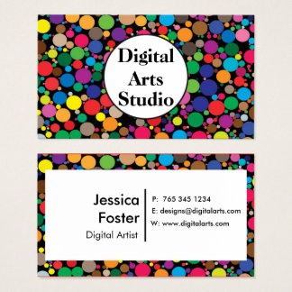 Multicolored Business Card